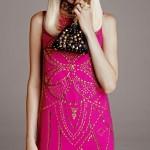 Pembe Gece Elbisesi Modelleri