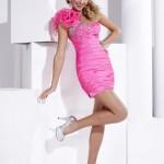 Pembe Gece Elbise Modelleri