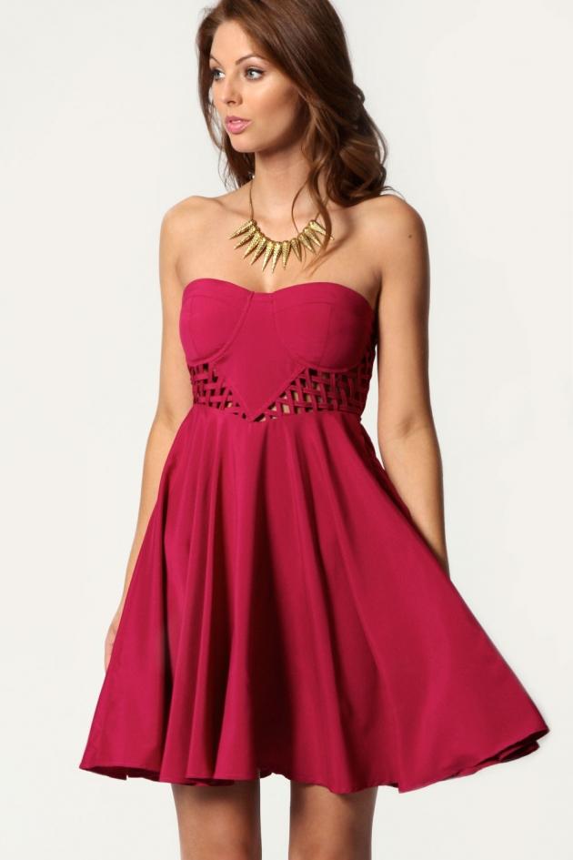 En Güzel Pembe Abiye Elbise Modelleri