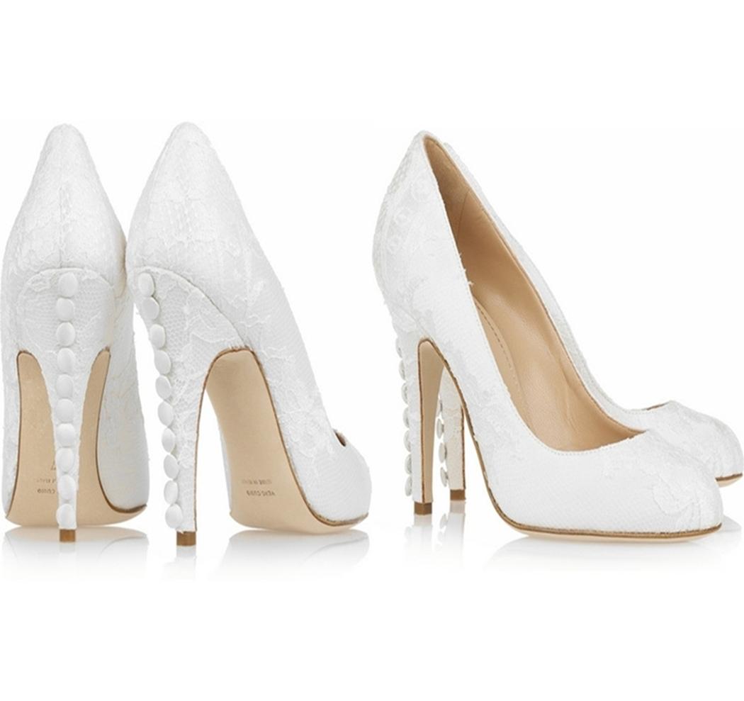 2019 Yılında Hangi Gelin Ayakkabıları Moda