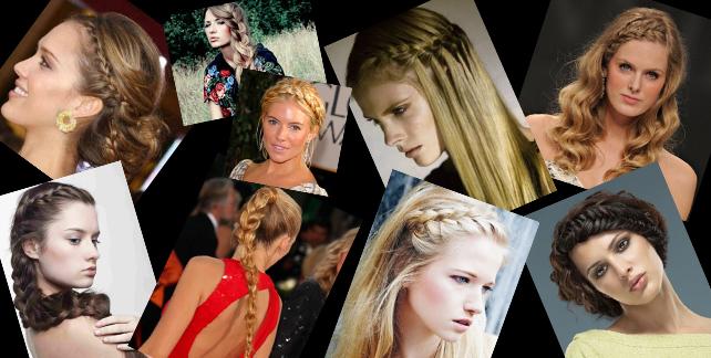 Romantik Saç Örgü Modelleri