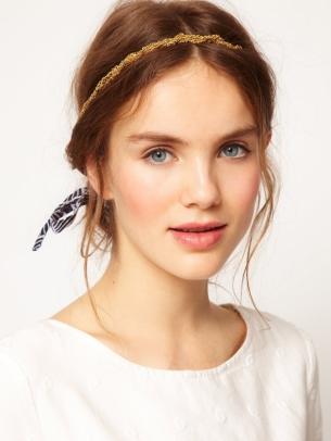 Saçlarda tak takıştır modası