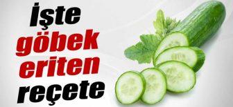 Salatalık çayı ile göbek yağlarından kurtulun
