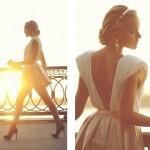 Sırt Dekolteli Elbise