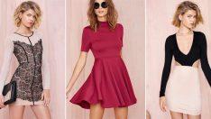 Sarı Sonbahar İçin En Şık Kışlık Elbise Modelleri