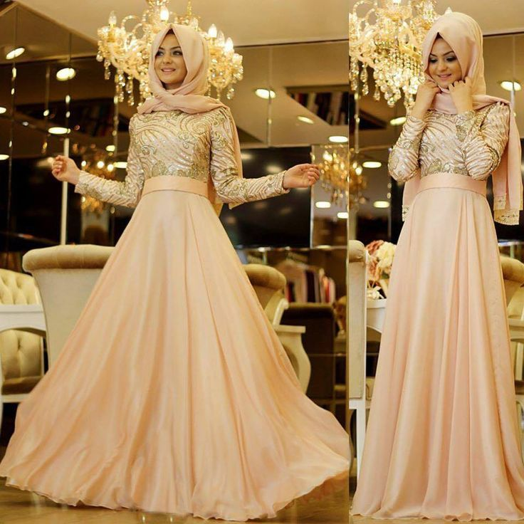0042433bb3e4b Bu Tesettür Abiye Elbise Modelleri Daha Şık Olacaksınız ...