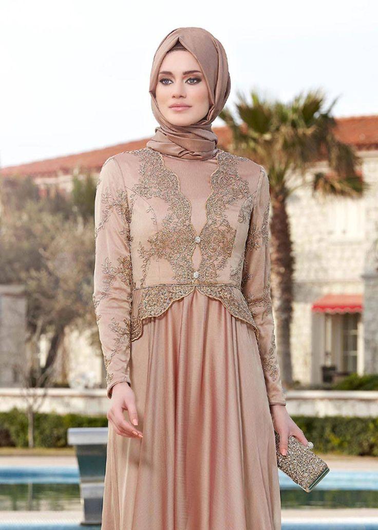 324b1cf8d8da4 Bu Tesettür Abiye Elbise Modelleri Daha Şık Olacaksınız ...