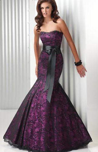 Özel Günlere Balık Abiye Elbise Modelleri