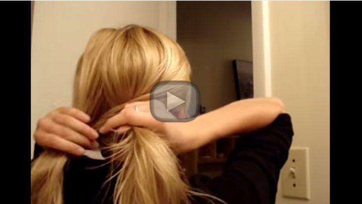 Uzun Saçlar İçin  Günlük Saç Şekilleri
