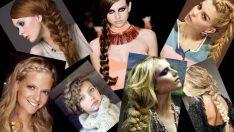 2018 Örgü Saç Modelleri, En Trend Saç Örgüsü Örnekleri