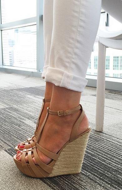 dolgu topuk ayakkabı