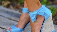 Yeni Sezon Dolgu Topuk Ayakkabı Modelleri
