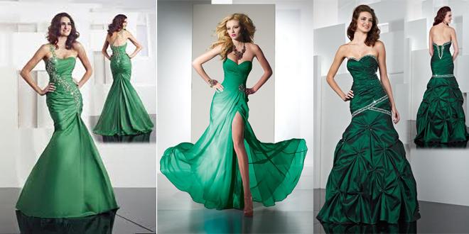 İşte En Güzel Yeşil Abiye Elbise Modelleri