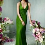 Yeşil Renkli Abiye Modelleri