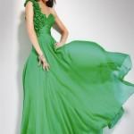 İşte En Güzel Yeşil Abiye Elbise Modelleri 2017