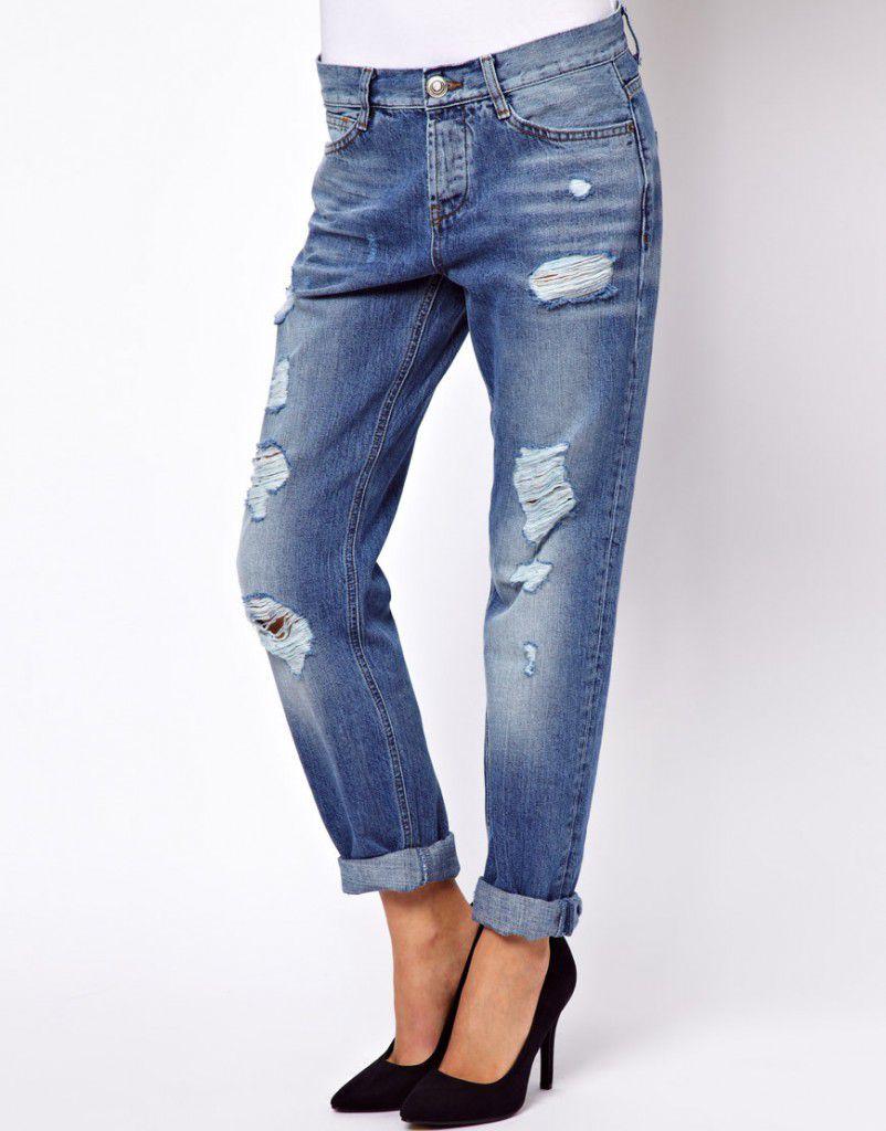 2020 Yırtık Kot Kombinleri, Şık Jean Pantolon Modelleri
