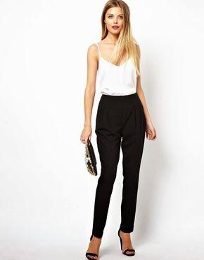 Yüksek belli pantolon modelleri