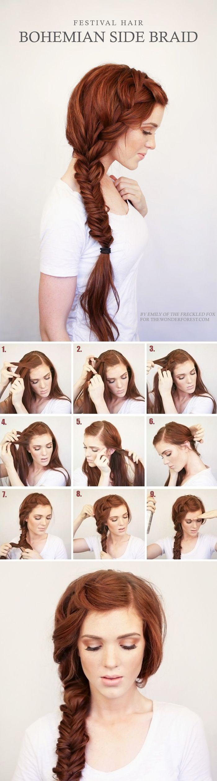 örgülü saç modelleri ve yapılışları (11)