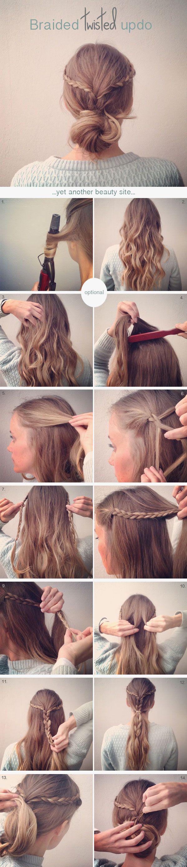 örgülü saç modelleri ve yapılışları (5)