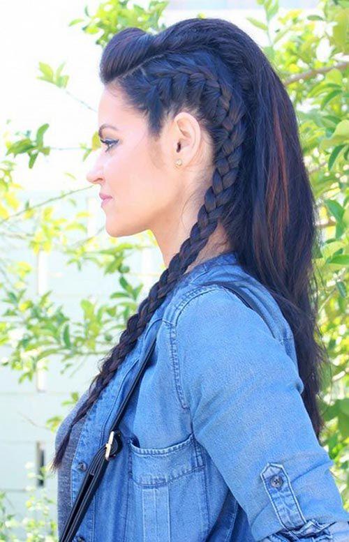 İşte Size Muhteşem örgü saç modelleri (2)