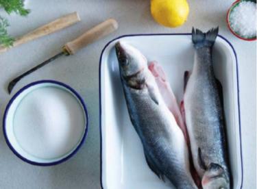 Tuzda Balık Tarifi (Fotoğraflı)