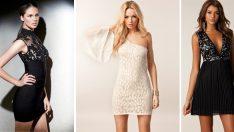 2016 Mini Abiye Elbise Trendleri