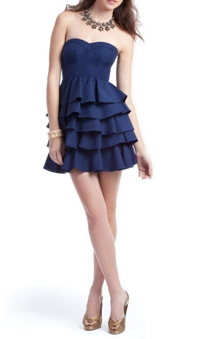 2017 Özel Gecelere Kısa Gece Elbiseleri ve Abiye Elbise Modelleri