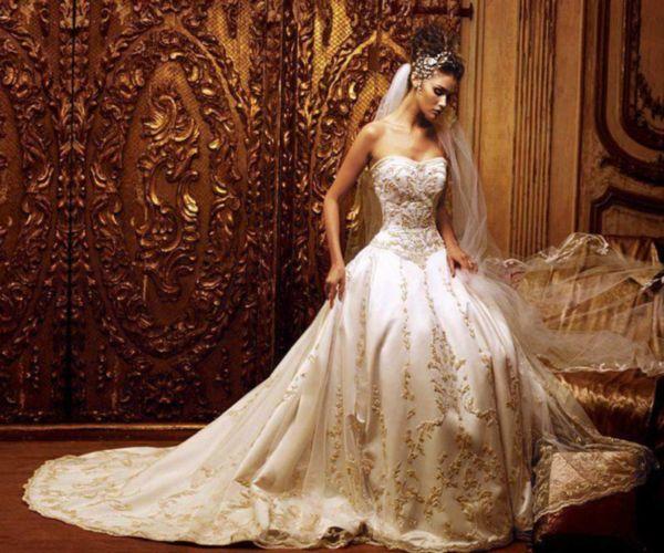 2020 Kabarık Prenses Gelinlik Modelleri