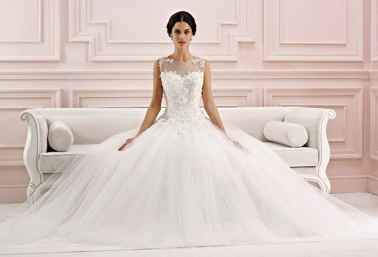 58d0ef77639fc 2019 Kabarık Prenses Gelinlik Modelleri | SadeKadınlar, Kıyafet ...