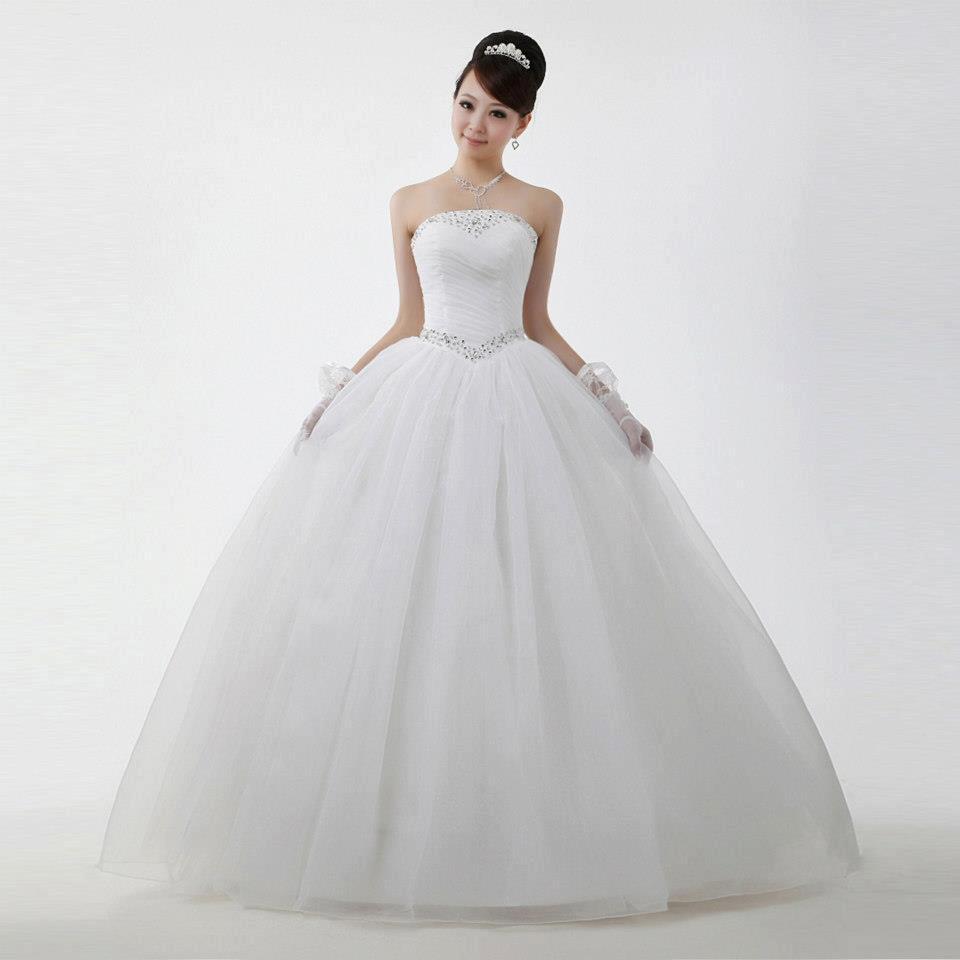 2019 Kabarık Prenses Gelinlik Modelleri