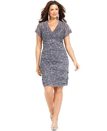 c24962980572f Payetli Büyük Beden Abiye Elbise Modelleri | SadeKadınlar, Kıyafet ...