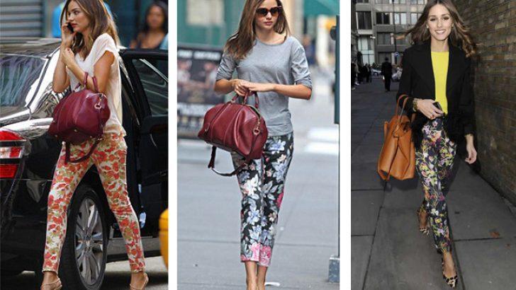 2018 Desenli Pantolon Modelleri Yaz Kombinlerinin Vazgeçilmezi
