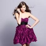 Mor Abiye Elbise Modelleri Şık Tasarımları İle Dikkat Çekiyor