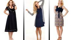 En Rahat Hamile Kıyafetleri Şık Elbise Modelleri