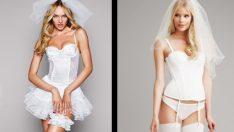 Gelinler İçin İç Çamaşır Modelleri