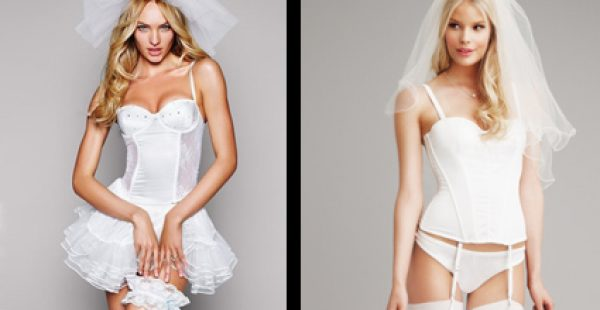 Victoria's Secret Seksi Gelinlik İç Çamaşırı Modelleri