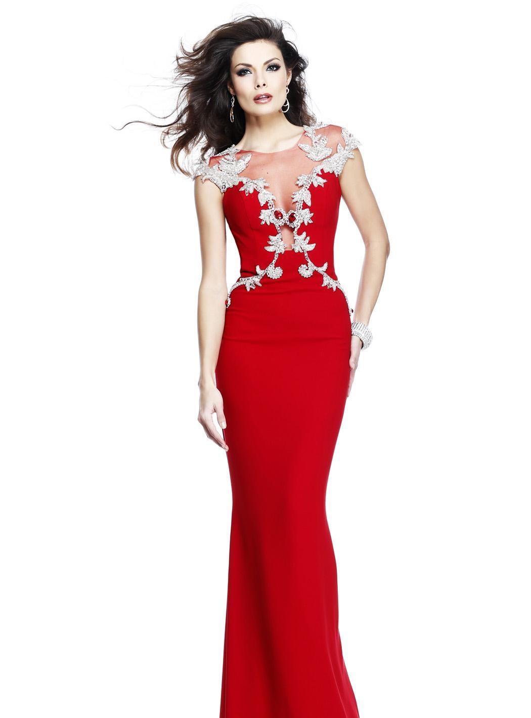 48170ab071b2b Kırmızı Abiye Elbise Modelleri Özel ve Güzel | SadeKadınlar, Kıyafet ...