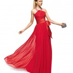 Kırmızı Abiye Elbise Modelleri Özel ve Güzel