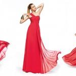 Kırmızı Abiye Modelleri