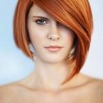 Kısa ve Omuzda Saç Modelleri