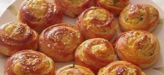 Beş Çayı İçin Mayalı Patatesli Börek tarifi