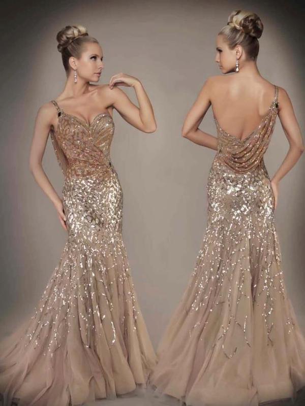 Düğün ve Nişan İçin Abiye Elbise Modelleri 2017