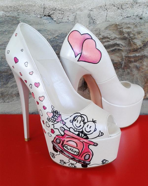 2020 Düğünleri İçin Özel Tasarım Gelin Ayakkabıları