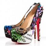 Yüksek Topuklu Ayakkabı Modelleri Cıvıl Cıvıl Rengarenk