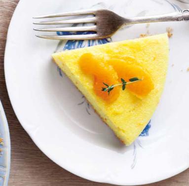 portakallı irmik tatlısı