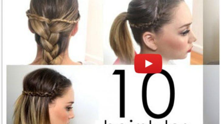 Pratik Okul Saçı Modeli Nasıl Yapılır?