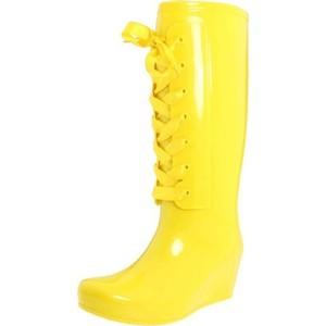 Rengarenk Sarı Yağmur Çizmesi modelleri