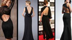 Sırt Dekoltesini Seven Kadınlar için Sırt Dekolteli Elbise