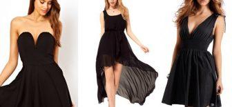 Siyah Seviyorsanız Bu Abiye Modelleri ve Gece Elbiseleri Tam Sizlik