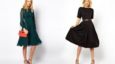 Kışlık Elbise Modelleri İle En Tarz Kombinler